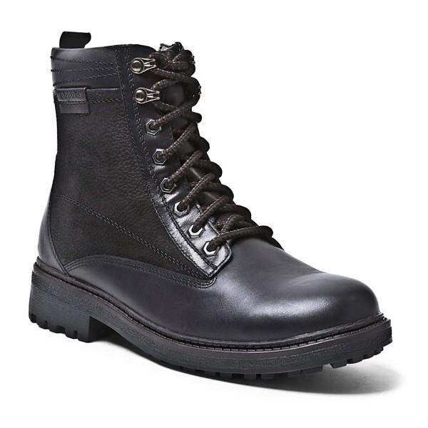 MEN'S JETSON BLACK LEATHER WINTER BOOT Thumbnail