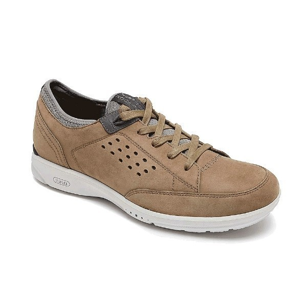 MEN'S TRUEFLEX LACE UP TAUPE CASUAL Thumbnail