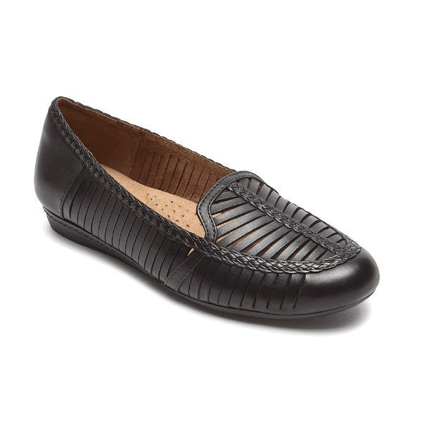 WOMEN'S GALWAY LOAFER BLACK SHOE Thumbnail