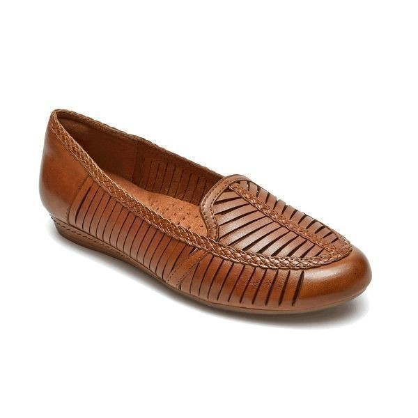 WOMEN'S GALWAY LOAFER TAN SHOE Thumbnail