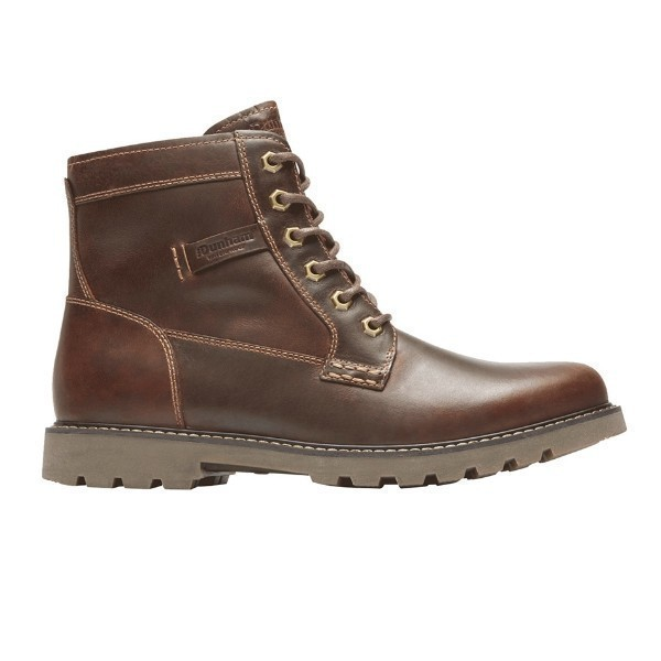 MEN'S ROYALTON BROWN WATERPROOF BOOT Thumbnail