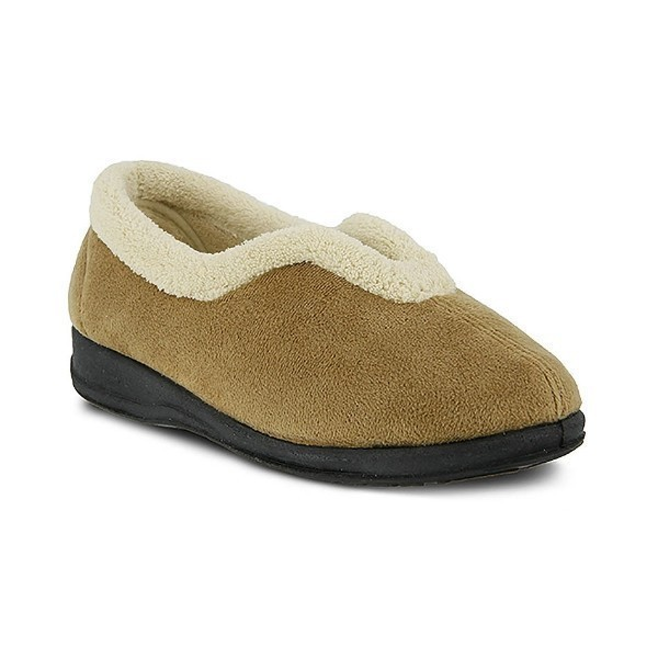 WOMEN'S CINDY BEIGE SLIPPER Thumbnail