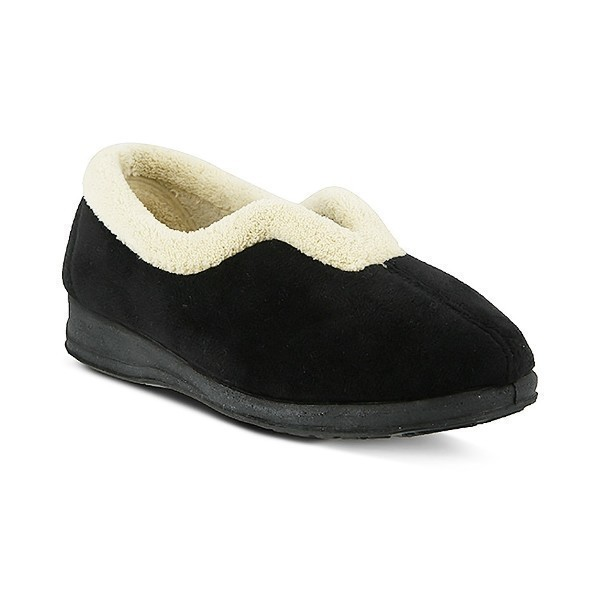 WOMEN'S CINDY BLACK SLIPPER Thumbnail