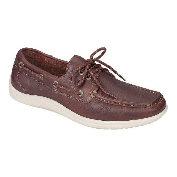 MEN'S DECKSIDER NEW BRIAR LEATHER BOAT SHOE Thumbnail