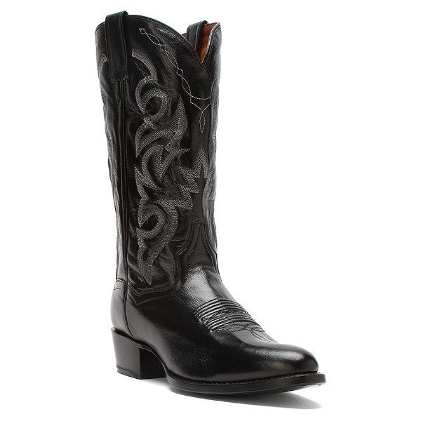 MEN'S DP2110R  MILWAUKEE BLACK WESTERN BOOT Thumbnail