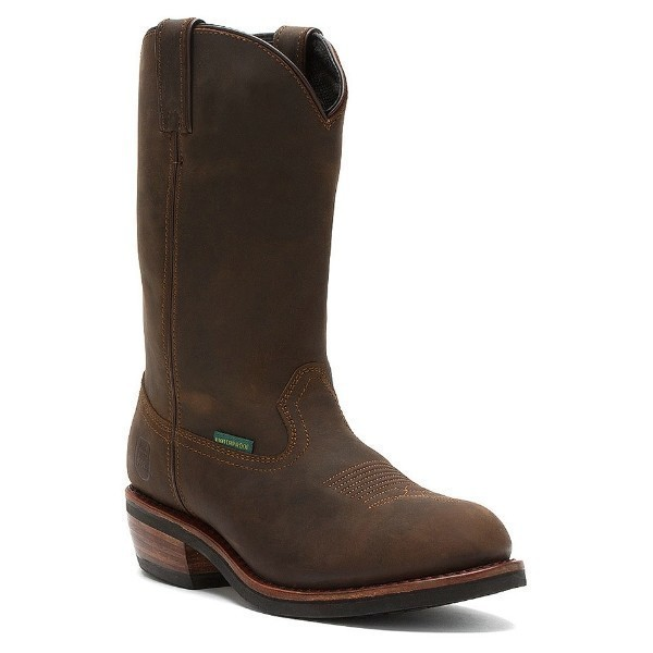 MEN'S DP69681 ALBUQUERQUE TAN/BROWN WP BOOT Thumbnail