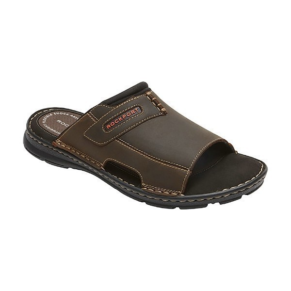MEN'S DARWYN SLIDE 2 BROWN SANDAL Thumbnail