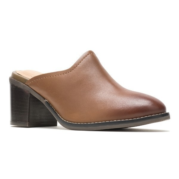 WOMEN'S HANNAH MULE DACHSHUND LEATHER SHOE Thumbnail