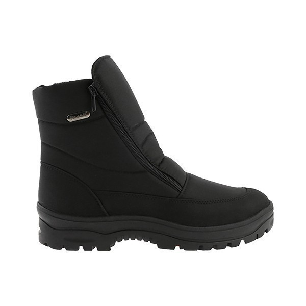 MEN'S ICEGRIP BLACK NYLON ZIP WINTER BOOT Thumbnail