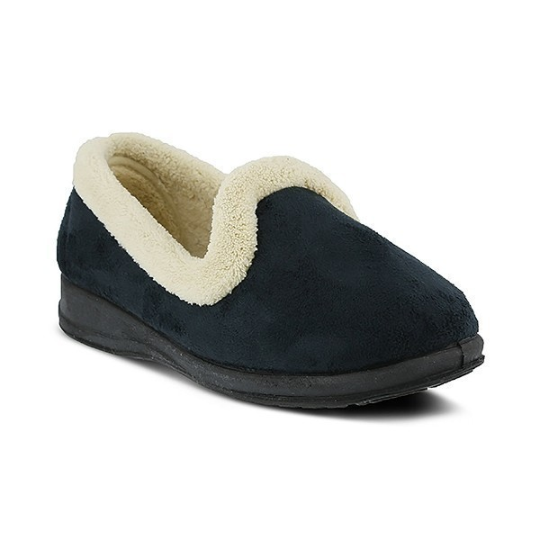 WOMEN'S ISLA NAVY SLIPPER Thumbnail