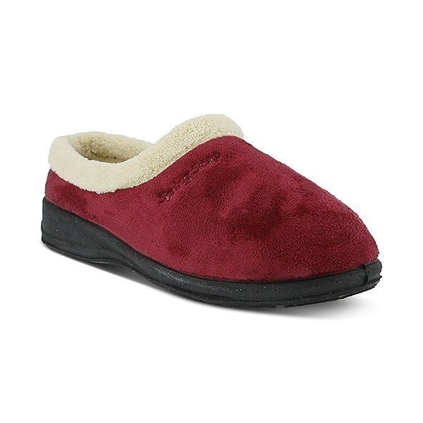 WOMEN'S IVANA BURGUNDY SLIPPER Thumbnail