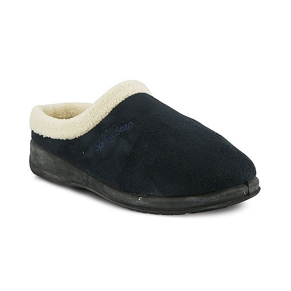 WOMEN'S IVANA NAVY SLIPPER Thumbnail