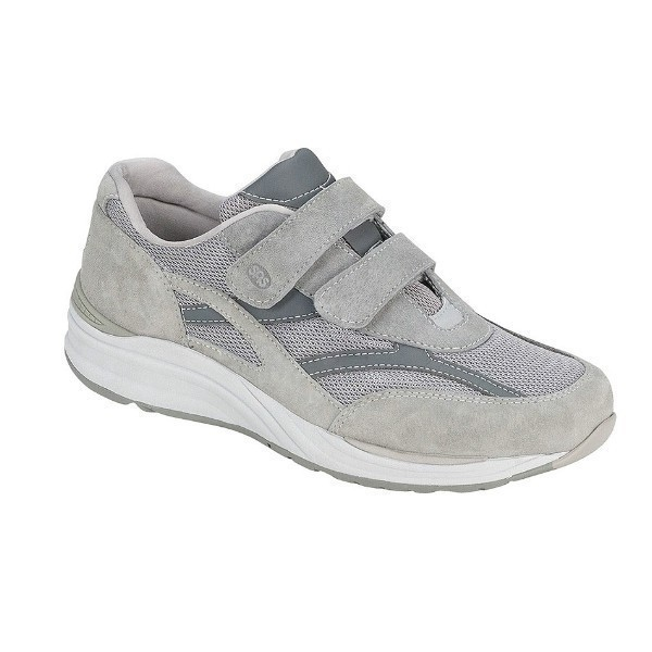 MEN'S J-V MESH GRAY HOOK-AND-LOOP SEAKER Thumbnail