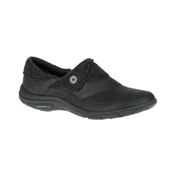 WOMEN'S DASSIE FOLD MOC BLACK CASUAL Thumbnail