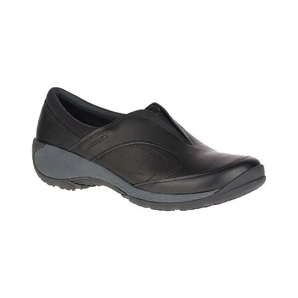 WOMEN'S ENCORE Q2 MOC BLACK LEATHER CASUAL Thumbnail