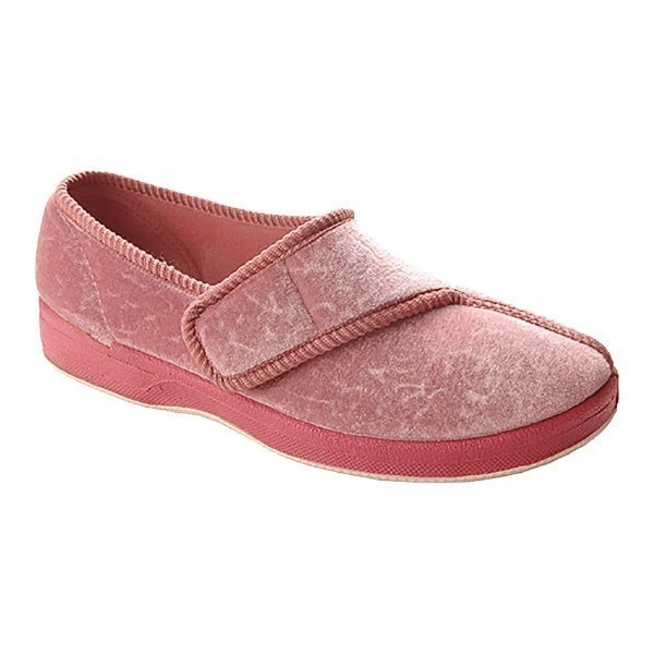 WOMEN'S JEWEL FT ROSE VELOUR SLIPPER Thumbnail