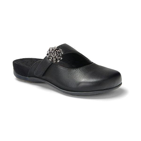 WOMEN'S JOAN BLACK ADJUSTABLE CLOG Thumbnail