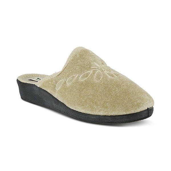 WOMEN'S JOSIE BEIGE SLIPPER Thumbnail