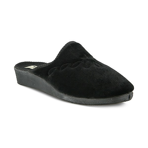 WOMEN'S JOSIE BLACK SLIPPER Thumbnail