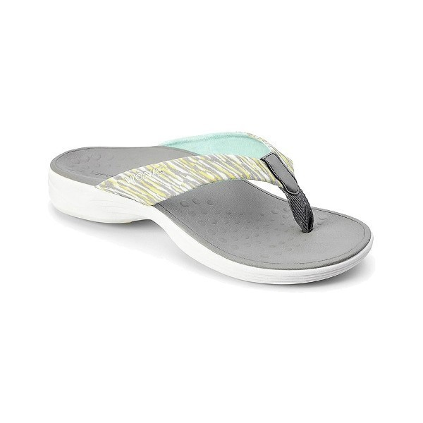 WOMEN'S KAPEL GREY THONG SANDAL Thumbnail