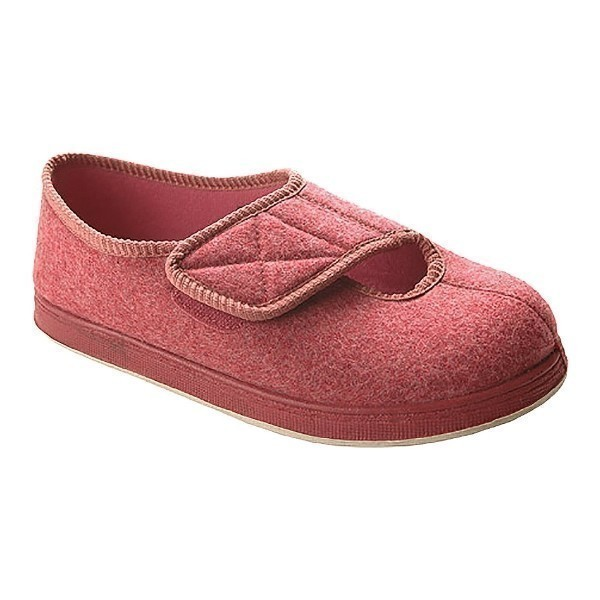 WOMEN'S KENDALE ROSE EXTRA DEPTH SLIPPER Thumbnail