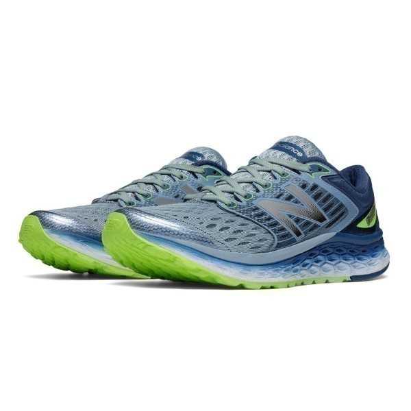 MEN'S M1080GG6 FRESH FOAM GREY/GREEN RUNNER Thumbnail