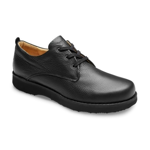 MEN'S HUBBARD FREE ALL BLACK LEATHER OXFORD Thumbnail