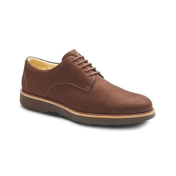 MEN'S BUCKS BROWN NUBUCK OXFORD Thumbnail