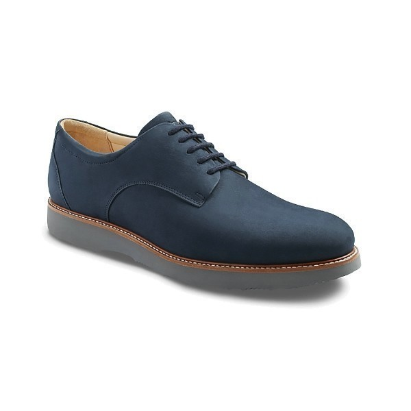 MEN'S BUCKS NAVY NUBUCK OXFORD Thumbnail