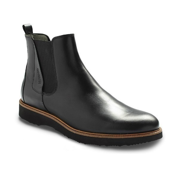MEN'S 24 SEVEN BLACK LEATHER DRESS BOOT Thumbnail