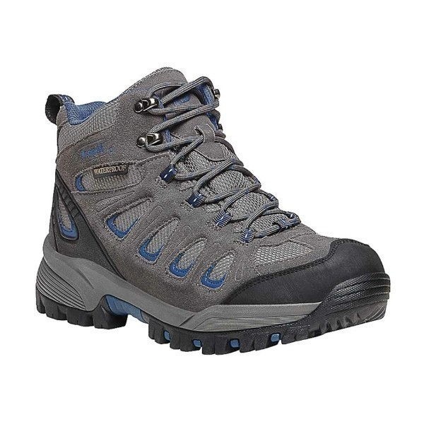 MEN'S RIDGE WALKER GREY BLUE HIKER BOOT Thumbnail