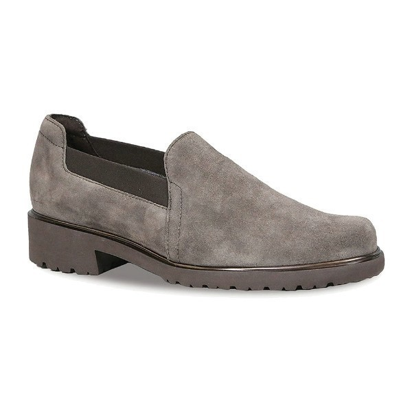 WOMEN'S BECCA BROWN SUEDE CASUAL SLIP-ON Thumbnail