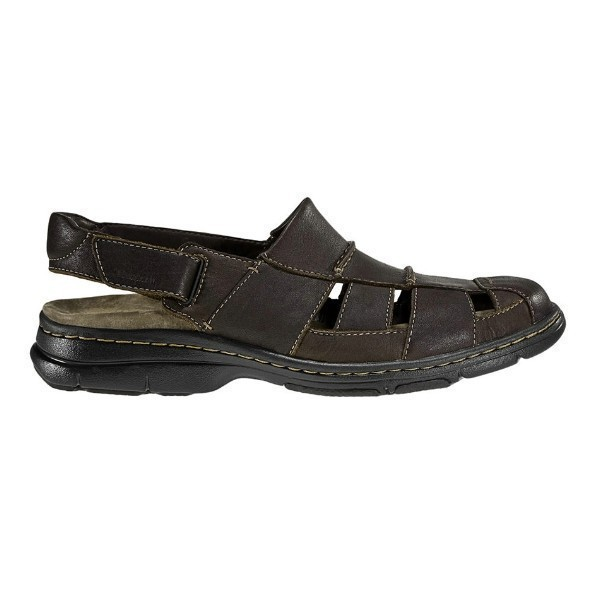 MEN'S MONTEREY BROWN LEATHER SANDAL Thumbnail