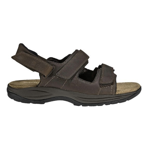 MEN'S ST.JOHNSBURY BROWN STRAP SANDAL Thumbnail