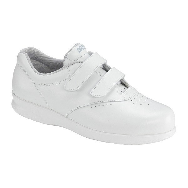 WOMEN'S ME TOO WHITE LEATHER COMFORT WALKER Thumbnail