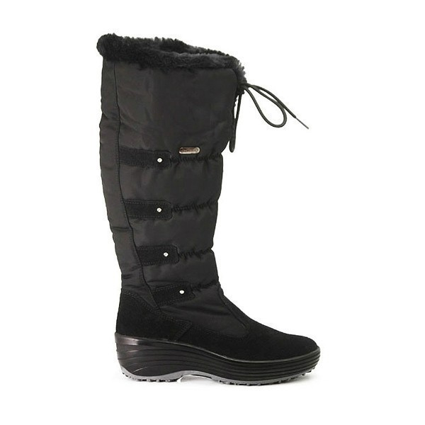 WOMEN'S MIA BLACK NYLON TALL WINTER BOOT Thumbnail