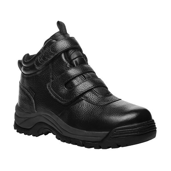MEN'S CLIFFWALKER STRAP BLACK LEATHER HIKER Thumbnail