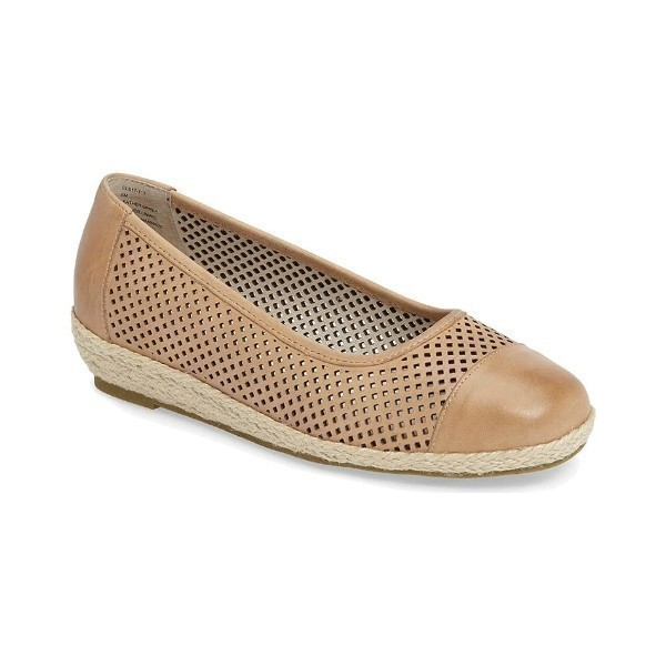 WOMEN'S NADINE NATURAL LEATHER CASUAL SLIP-ON Thumbnail