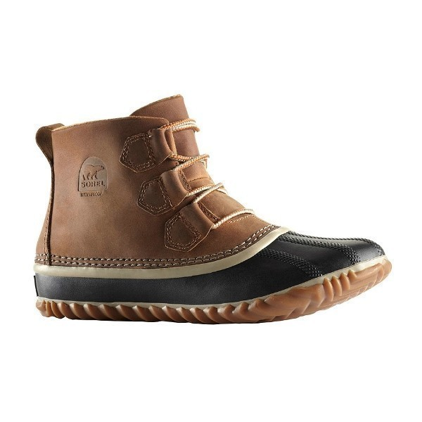 WOMEN'S OUT N ABOUT ELK/BLACK WATERPROOF BOOT Thumbnail