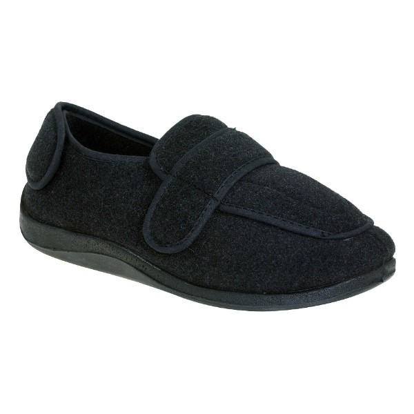 MEN'S PHYSICIAN CHARCOAL EXTRA-DEPTH SLIPPER Thumbnail