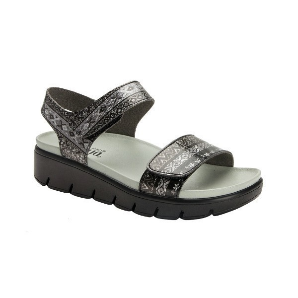 WOMEN'S PLAYA POW WOW PEWTER SANDAL Thumbnail