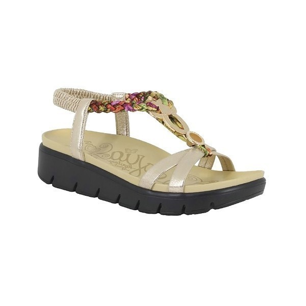 WOMEN'S ROZ GOLD MULTI SANDAL Thumbnail