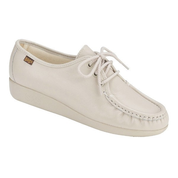 WOMEN'S SIESTA BONE LEATHER CASUAL LACE-UP Thumbnail