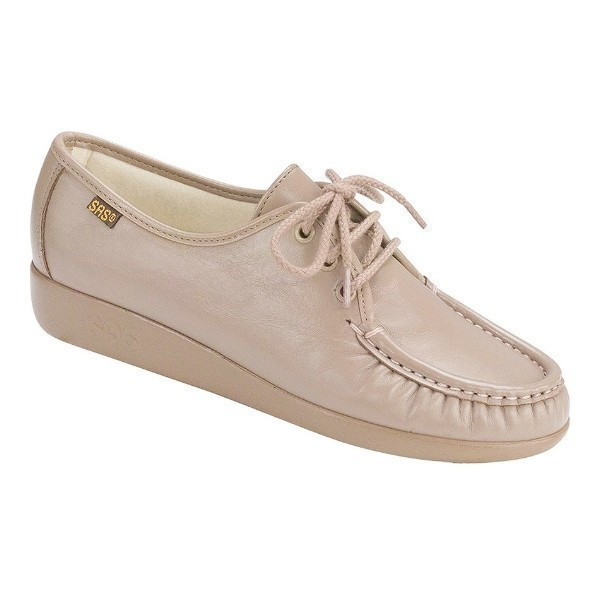 WOMEN'S SIESTA MOCHA LEATHER CASUAL LACE-UP Thumbnail