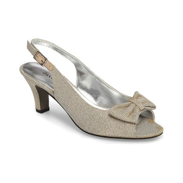 WOMEN'S SPIRIT SILVER GLITZ EVENING SHOE Thumbnail