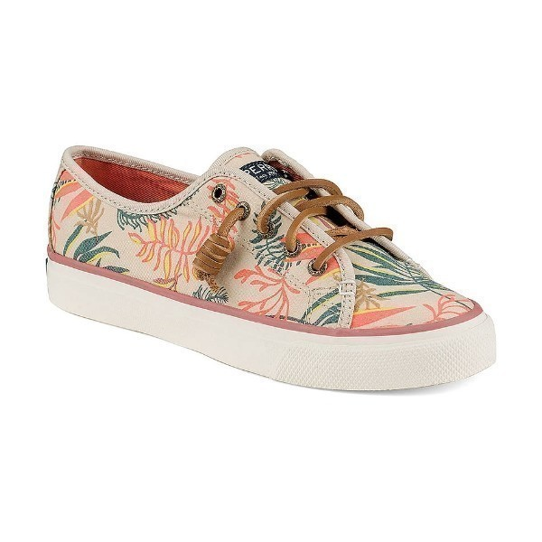WOMEN'S SEACOAST SEAWEED PRINT CANVAS SHOE Thumbnail