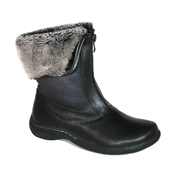 WOMEN'S GAILEE 2 BLACK ZIP WINTER BOOT Thumbnail