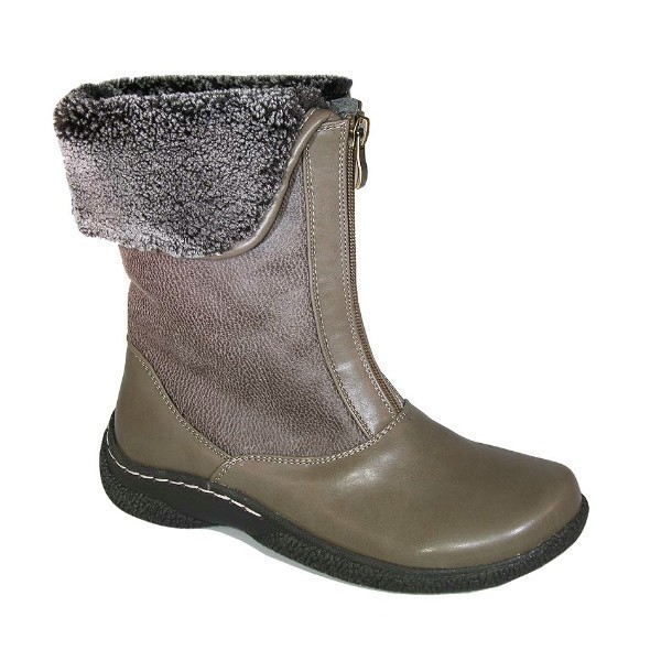 WOMEN'S GAILEE 2 TAUPE ZIP WINTER BOOT Thumbnail