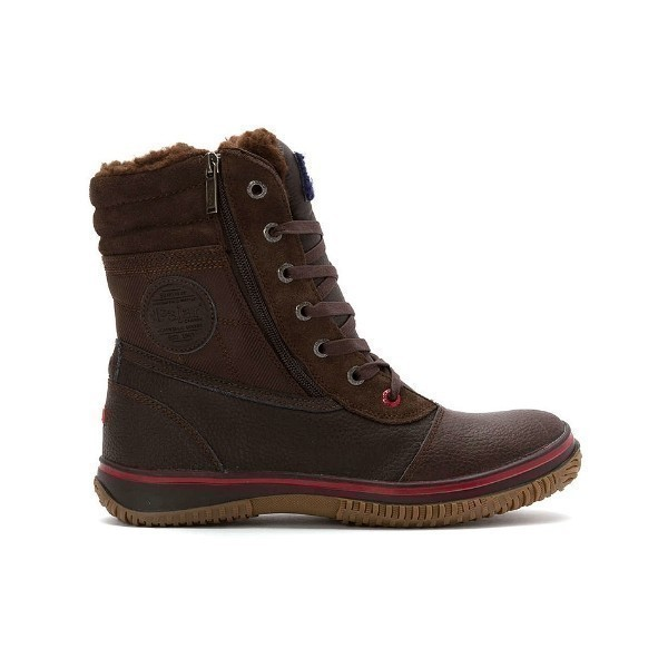 MEN'S TROOPER DK BROWN LACE/ZIP WINTER BOOT Thumbnail