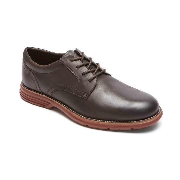 MEN'S TOTAL MOTION FUSION DK.BROWN PLAIN TOE Thumbnail